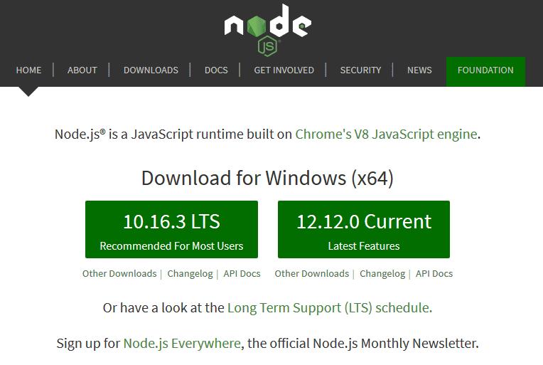 以太坊 Dapps 事前準備,設定 Windows 開發環境。Download here(and follow the installation instructions)